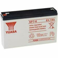 Batterie ricaricabili 7 Ah 6 V per articoli audio e video