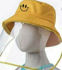 Kinder Bonnet Gesichtsschutz Hut Sonnenhut Buschhut Eimer Hüte Anti-UV Draussen