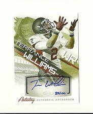 2013 SAGE HIT Artistry Autographs #AA24 Terrance Williams /100 Cowboys Baylor