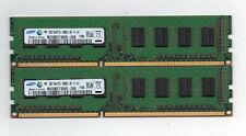 4GB (2X 2GB)  DDR3 1333 PC3-10600  Desktop Computer Memory PC Ram