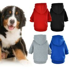 Dog Hoodie Puppy Clothes Autumn Warm Overall Costume Winter Pet Supplies Coats