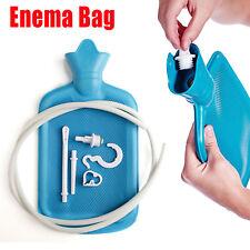 Reusable Premium Enema Douche Premium Enema Bag Kit BPA 2l Hot Water Bottle