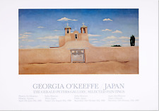 Front of Ranchos Church by Georgia O'Keeffe Art Print 1988 Poster 25x36