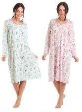 Ladies Knee Length Floral Nightwear for Women
