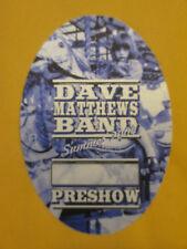 Dave Matthews Band - Summer 2004 Tour - Preshow - Backstage Pass