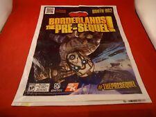 Boderlands The Pre-Sequel Xbox 360 PS3 PS4 PAX Convention Promotional Bag Promo