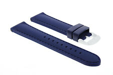20MM SILICONE RUBBER DIVER WATCH STRAP BAND FOR TISSOT PRS 516 BLUE 5P