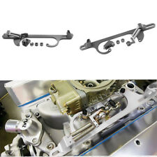 Silver Aluminum Throttle Cable Carb Bracket Carburetor Fits For Holley 4150 4160