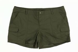 The North Face 242443 Womens Paramount II Active Shorts Taupe Green Size 16