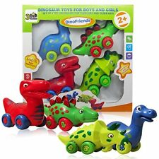 Dinosaur Toys for Toddlers and Older Kids - Set of 4 Toy Dinosaur