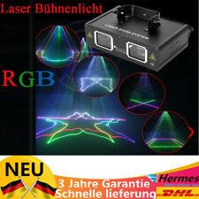 Laser RGB Showlaser DJ Disco Lasereffekt DMX Show Party 30W Bühnenbeleuchtung