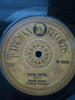 "Ernie Smith ‎– Pitta Patta / Litchfield Garden 7"" Vinyl Single 1972 UK Copy"