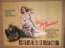 THE LADY VANISHES - HAMMER  1979  ORIGINAL UK QUAD POSTER .