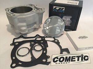 05-15 WR450F WR 450F 98mm CP 13.5:1 Piston Big Bore Cylinder Cometic Top End Kit