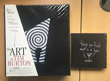 The Art Of Tim Burton HARDBACK & The Napkin Art Of Tim Burton HARDBACK SEALED