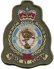 numéro 672 Escadron britannique Armée Air Corps AAC écusson olive mod patch