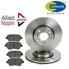 For Nissan Micra K12 - 2002 - 2010 - Front Brake Discs & Brake Pads