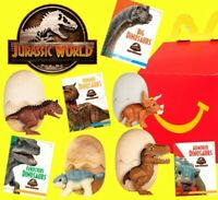 McDonald's Happy Meal Toy Jurassic World Camp Cretaceous 2020 from Russia