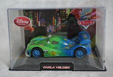 Disney Store Pixar Cars Carla Veloso Die Cast Car 1:43 Scale NEW Hard Case