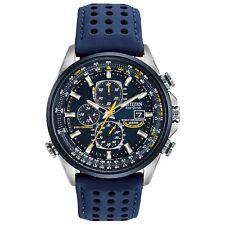 Citizen Eco-Drive Men's Blue Angels Atomic Chronograph 42mm Watch AT8020-03L