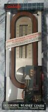 Sunbeam Vintage Thermometer Indoor Outdoor Plus Humidity Meter
