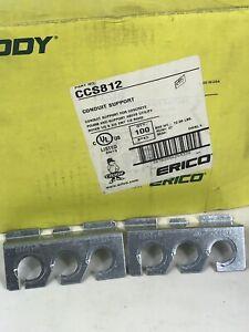 """100 Caddy CCS812 Conduit Support For Concrete Pours  1/2"""" & 3/4"""" EMT 1/2 Rigid"""