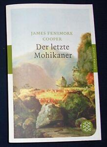 DER LETZTE MOHIKANER Roman BUCH von James Fenimore Cooper
