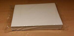100 A4 sheets - PREMIUM edible wafer (rice) paper - white - sweetvanilla flavour