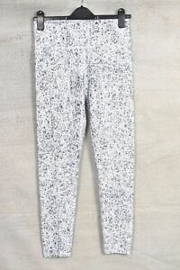 FABLETICS Black & White patterned leggings Approx 10 L27