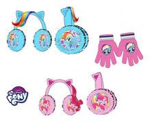 My Little Pony 3D Winter Ear Muffs and gloves Girls Kids Children's New Official