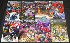 Modern DW TRANSFORMERS: ARMADA 8pc Count High Grade Comic Lot #1-8 Toy Cartoon