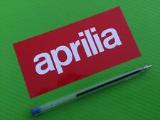 Aprilia Large Decals stickers for Road Bike or fairing PAIR #91L