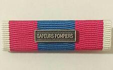 Rappel Médaille DEFNAT Défense Nationale ARGENT avec agrafe SAPEURS POMPIERS