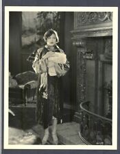 GREAT ARTISTIC PHOTO OF SILENT FLAPPER CORINNE GRIFFITH - NEAR MINT COND - SIL