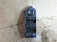 VAUXHALL ASTRA H DRIVER SIDE FRONT WINDOW REGULATOR CONTROL SWITCH 13228699