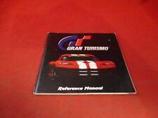 Gran Turismo  PS1 PlayStation 1 Instruction Reference Manual Booklet ONLY