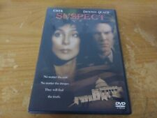SUSPECT CHER DENNIS QUAID CRIME THRILLER DRAMA DVD MOVIE FILM DISC TRISTAR 2004