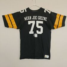 a9ce4903c9e Vintage Mean Joe Greene Jersey Shirt Large Russell Pittsburgh Steelers  75  USA
