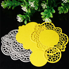 4x/set Flower Cutting Dies Stencil DIY Scrapbooking Album Card Embossing Crafts