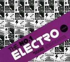 No.1 Electro Album (SEALED 3xCD 2012) Example Deadmau5 Axwell Kid Cudi Ian Carey