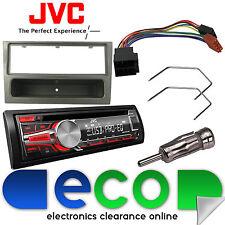 VAUXHALL AGILA JVC CD mp3 USB Radio Stereo Lettore & t1 Nero Fascia KIT DI MONTAGGIO