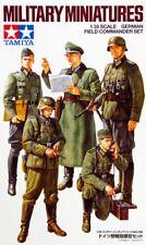 Tamiya 35298 1/35 Scale Model Military Kit WWII German Field Commander Set