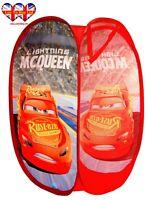 Disney Pixar Cars  Pop Up Laundry ,Toys Basket,Storage Bin,Official Licensed