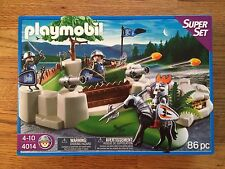 Playmobil 4014 Knights Fort Superset Playset New in Box!