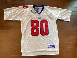 NEW YORK GIANTS #80 JEREMY SHOCKEY REEBOK NFL FOOTBALL JERSEY MENS - L. NWT
