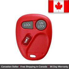 1x New Replacement Keyless Entry Red Remote Key Fob For Chevy Cadillac GMC