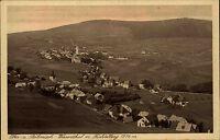Ober- u. Böhmisch Wiesenthal Loučná pod Klínovcem Tschechien s/w AK ~1920/30