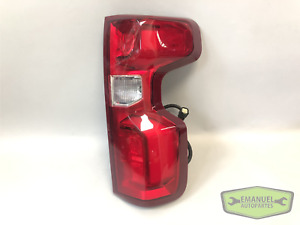 Chevrolet Silverado 2019 2020 RH Right LED Tail Light w/Harness OEM 84678150 NEW