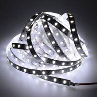5M 16.4ft 5630 White LED Light Strip SMD Daylight 12V Tape Lamp Non-waterproof