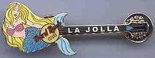 Hard Rock Cafe LA JOLLA 2003 COVE SERIES Mermaid GUITAR PIN - HRC Catalog #20412